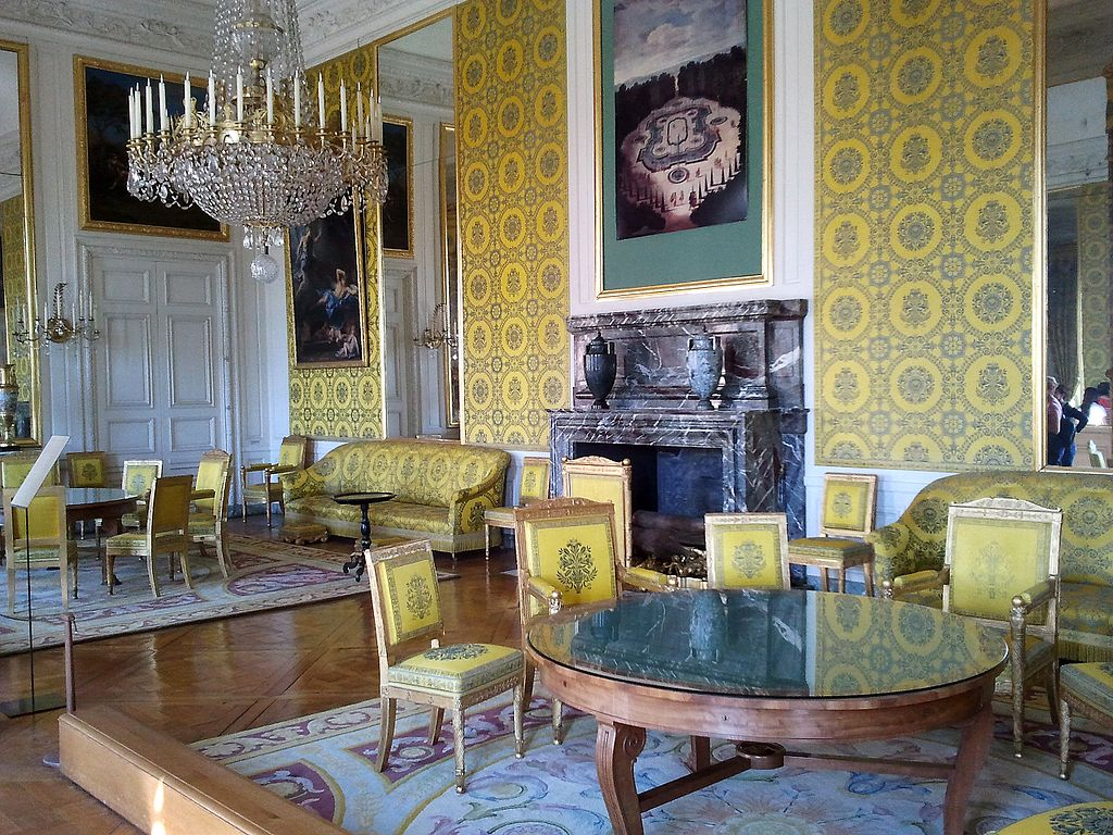 int rieur du grand trianon domaine de trianon toutes les pi ces 18 photographies andr le. Black Bedroom Furniture Sets. Home Design Ideas