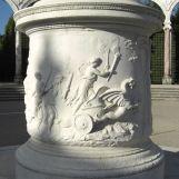 Départ de Cérès, à la recherche de sa fille, sur un char tiré par des dragons