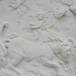 Amour sur un cheval