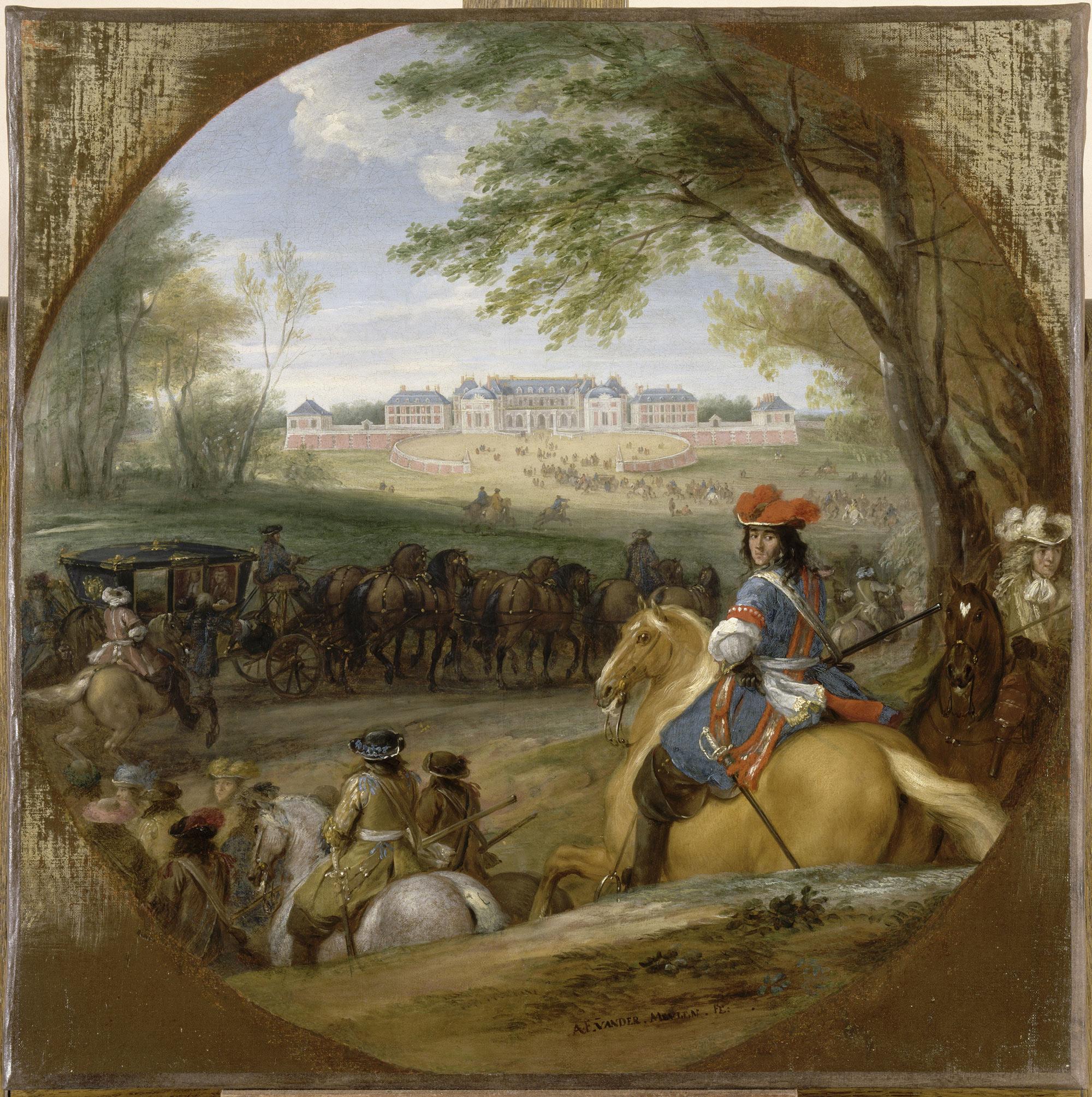 Versailles En 1669 Vu Par Adam Frans Van Der Meulen