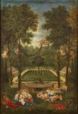 11. Vue du Marais avec Vénus consolant la nymphe Echo - Jean Cotelle