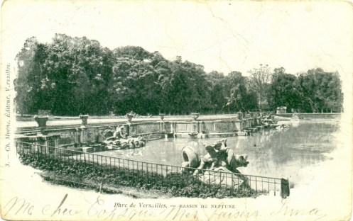 Bassin de neptune jardins de versailles cartes postales - Saint cyprien les jardins de neptune ...
