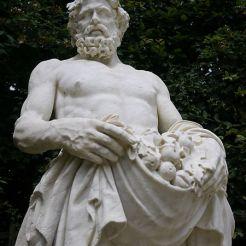 Terme en marbre blanc de Archimole dit Bacchus, bosquet de la Girandole