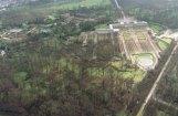 Jardins dévastés par la tempête de 1999