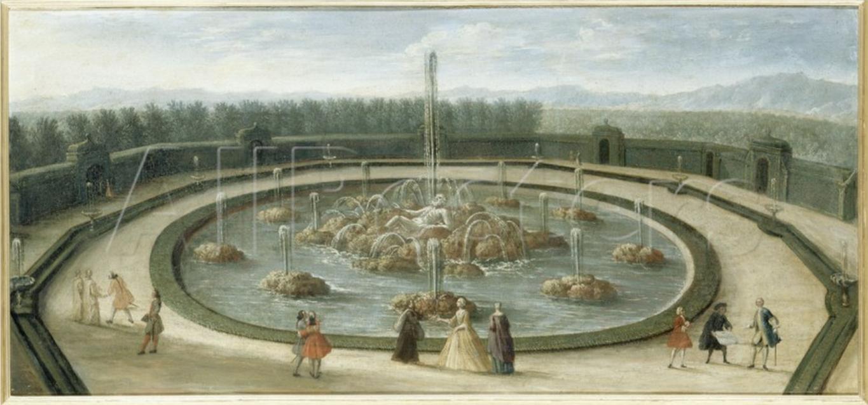 Bosquet de l encelade jardins de versailles au xviiie for Jardin xviiie siecle