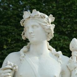Terme de Bacchus, parterre du bassin d'Apollon, jardins de Versailles
