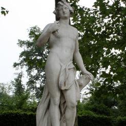 Statue de Bacchus, allée Sud du bassin d'Apollon