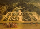 Jardin des Marronniers, Grand Trianon, Charles Chatelain, 1713