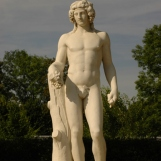Statue de Bacchus, allée d'Apollon