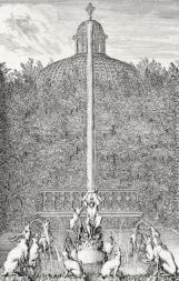 Fontaine du singe roi