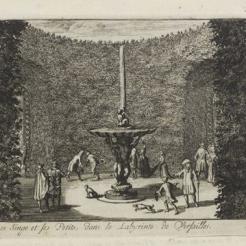 Fontaine du singe et ses deux petits