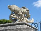La licorne combattant le dragon