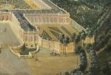 Vue du château de Trianon et de ses jardins, 1724 (détail), Jean-Baptiste Martin