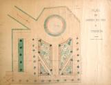 Plan du jardin du Roi à Trianon, vers 1892