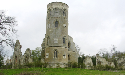Sham ruin, Wimpole Hall, 1749-1772
