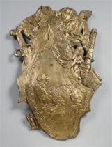 Trophée au dromadaire de bronze doré provenant de l'un des pavillons à dôme du bosquet des Dômes