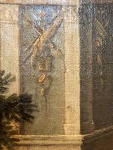 Détail d'une peinture de Cotelle
