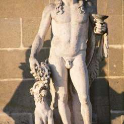 Bacchus, le dieu du vin qui préside au boire et au manger d'après Félibien, Corps Central