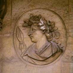 Buste d'un jeune homme – Bacchus (?), Corps Central