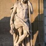 Comus, dieu des festins et des réjouissances selon Félibien, Corps Central
