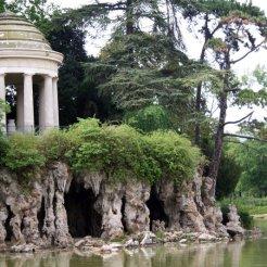 Temple de l'Amour, lac Daumesnil, bois de Vincennes, Jean-Charles Alphand