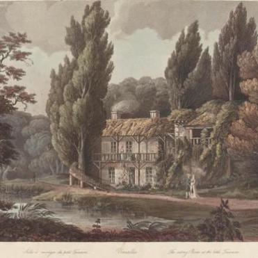 Maison de la Reine, Hameau (d'ap. Nattes)