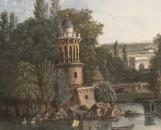 Vue par Louis Gadbois, au début du XIXe siècle