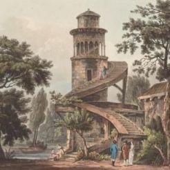 Tour Marlborough, Hameau (aquarelle)