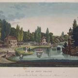 Hameau sous le Premier Empire par Henri Courvoisier-Voisin (1757-1830)