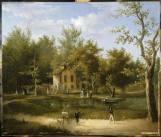Hameau par Henri Guérard (1846-1897)