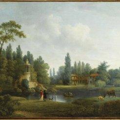 Hameau par Pierre Joseph Wallaert (1753-1812)