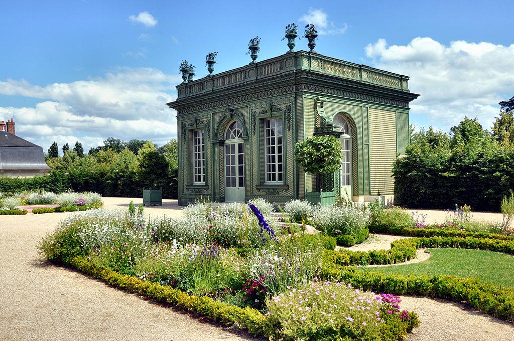 Pavillon frais jardin fran ais du petit trianon vue d Le jardin francais