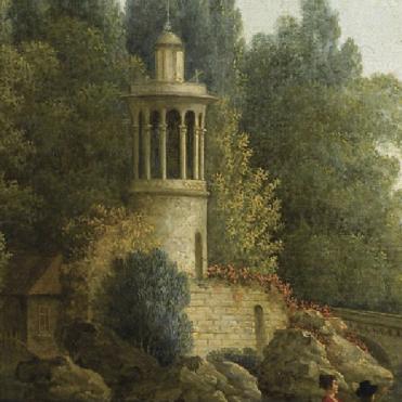 Vue par Jospeh Wallaert à la fin du XVIIIe siècle