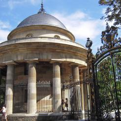 Rotonde (anciennement Barrière de Chartres), parc Monceau, Paris