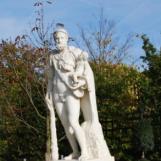 Hercule et Télèphe, Allée royale