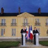 Gordon Brown et Nicolas Sarkozy, 2008