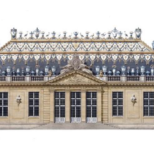 Trianon de Porcelaine (Illustration)