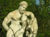 Hercule Farnèse, Allée bassin sud d'Apollon