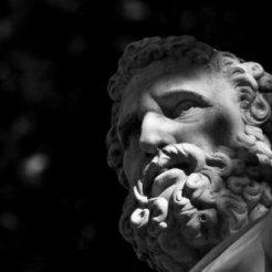 Hercule, Allée Sud du bassin d'Apollon