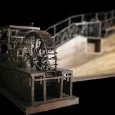 Plate-forme de roue à aubes