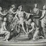 Apollon servi par les nymphes