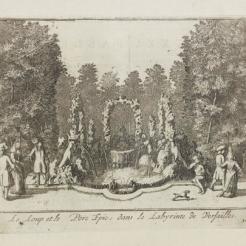 30. Fontaine du Loup et du porc épic