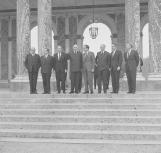 Visite de Richard Nixon, en 1969