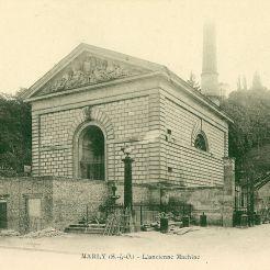 Bâtiment de la 3e machine de Marly, la pompe à vapeur Martin et Cécile