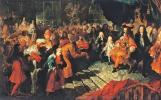 Audience donnée à Versailles par le Roi à l'ambassadeur de Perse