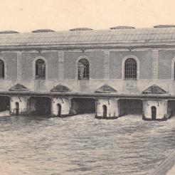 Bâtiment de la quatrième machine, celle de Dufrayer