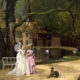 Hameau par Joseph Caraud