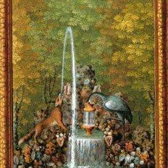 14. Fontaine de la Grue et le renard