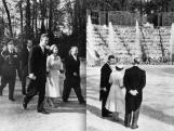 Visite de la reine Elisabeth II et du prince Philip en 1957