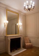 ncienne salle de bains de Louis-Philippe, devenue pièce d'habillage pour les hôtes étrangers de la France dans les années 1960